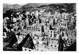 The bombing of Guernica